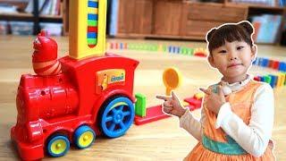 라임의 라바 도미노 뽑기 장난감 놀이 LimeTube & larva Toy