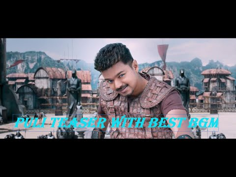 Puli Teaser With Best BGM