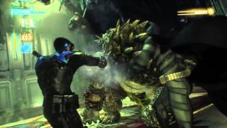 Killer Croc Boss Fight!