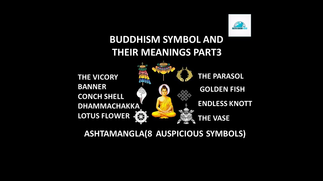 Buddhist Symbols And Their Meanings Part 3ashtamangla Or 8