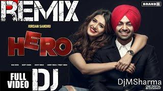 Hero Remix | Jordan Sandhu | Isha Rikhi | Bunty Bains | Davvy Singh | Latest Punjabi Songs 2018