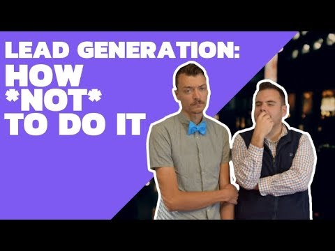 Debt Collection 101: Episode 35 - How NOT To Do Lead Generation In The Collections Industry