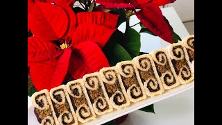DJEDOV BRK - SAVRSEN TRADICIONALNI BOZICNI KOLAC - CHRISTMAS CAKES