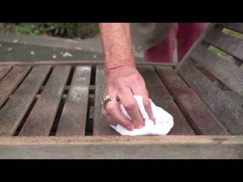 Rénover salon de jardin en bois - YouTube