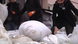 Anadolu Ajansı - Uyuşturucular sergilendi