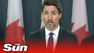 PM Justin Trudeau confirms plane that came down in Tehran was targeted by Iranian missile