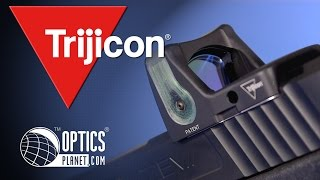 Trijicon RMR Reflex Red Dot Sights Overview - Product in Action - OpticsPlanet.com