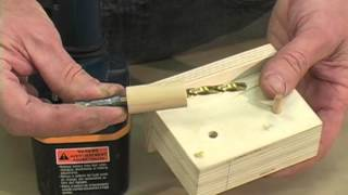 Build A Jig For Drilling Shelf Pin Holes