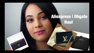 ALIEXPRESS & DHGATE HAUL | DESIGNER DUPES