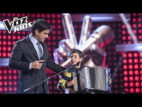 Juanjo canta El Cantor de Fonseca – Rescates | La Voz Kids Colombia 2018