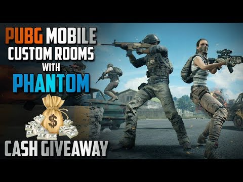 PUBG Mobile Live🔴 |Custom Rooms & Giveaway|