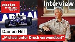 Formel Schmidt Interview mit Damon Hill | auto motor und sport