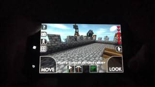 Survivalcraft Gameplay #2 Alpha1.4 On The Htc Titan(for Android And Windows Phone)