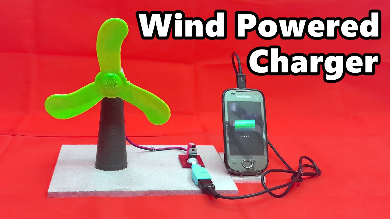 how to make a wind poweredfree energy usb mobile charger youtube