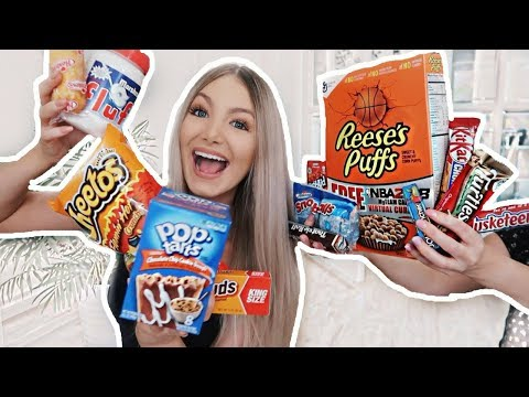 I SPENT $100 ON AMERICAN CANDY | Trying American Candy Part 2