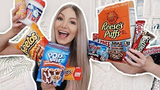 I SPENT $100 ON AMERICAN FOOD | Trying American Food Part 2