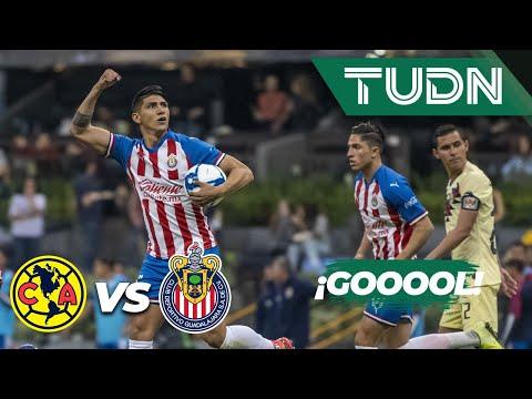 ¡Goool de Alan Pulido! | América 2 - 1 Guadalajara | Liga MX - Apertura 2019  - Jornada 12 | TUDN