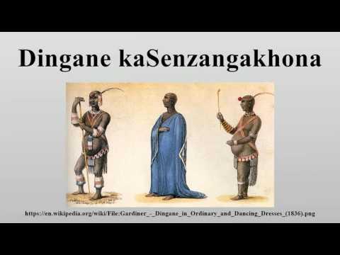 Dingane kaSenzangakhona