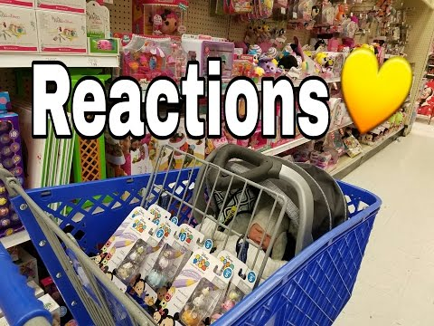 AWESOME REACTIONS! OUTING WITH REBORN BABY DOLL! SHOPPING WITH TOY BABY! NLOVEWITHREBORNS2011 - 동영상