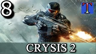 """Crysis 2 Playthrough - Part 8 """"Seat Of Power"""" [PC - No Commentary] Gameplay"""