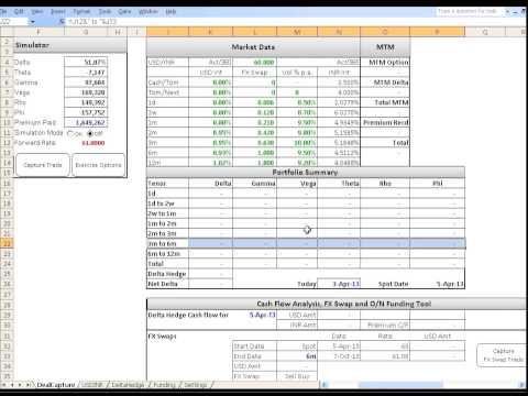 FX Option Trading Simulator