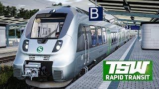TRAIN SIM WORLD Rapid Transit #2: Mit der S-BAHN S2 durch den Citytunnel in Leipzig!  | TSW deutsch