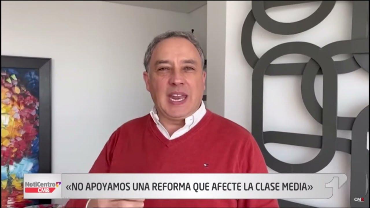 Nosotros nos oponemos a la Reforma Tributaria porque es Estatista, Confiscatoria y fiscalista