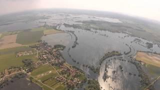 Hochwasser an der Havel und Elbmündung 2013