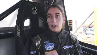 Maria José Rodriguez- Tractos Freightliner NASCAR PEAK