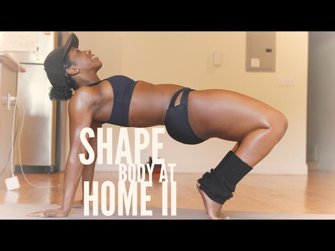At Home Glutes and Abs Exercise