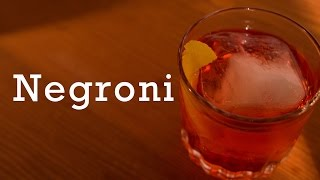 Negroni Cocktail From Better Cocktails At Home