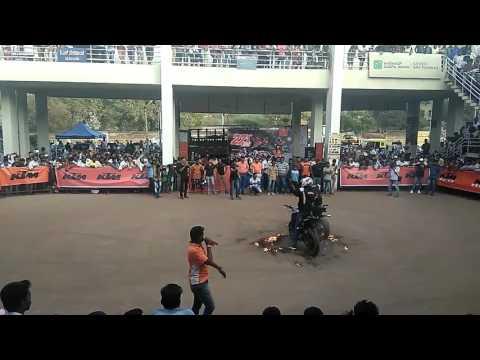 KTM stunt show in BAGALKOT