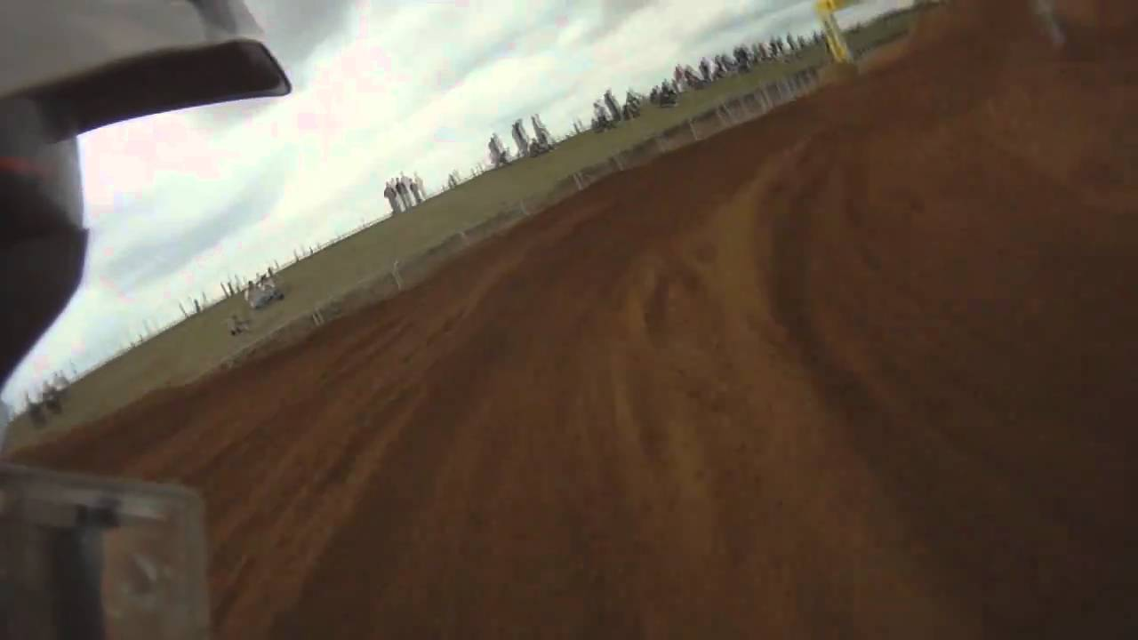 Motocross Insane TM 250 2 stroke helmet cam RACE!