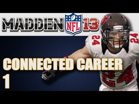 Madden 13 Connected Career : The Start of My Cornerback Ep.1