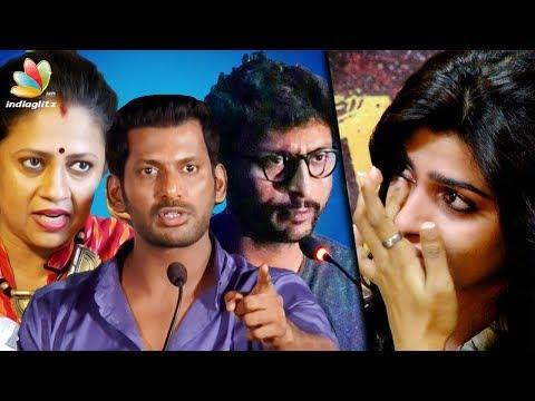 Celebrities support Dhansika in T Rajendar Controversy   Vishal, RJ Balaji, Lakshmi Ramakrishnan