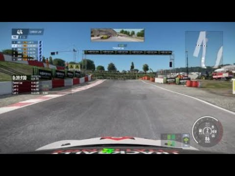 Project CARS 2 road of rally cross oof