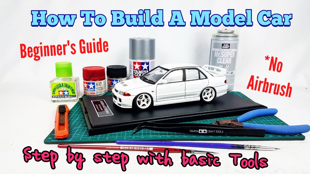 Download How To Build a Model Car 1/24 for Beginners Step by Step Guides