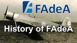 History of FAdeA
