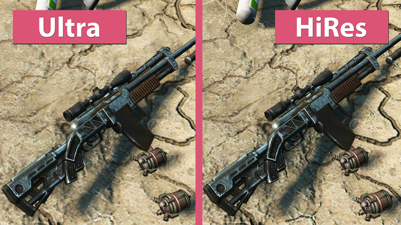 4K UHD | Fallout 4 – High Resolution Texture Pack vs  Standard Ultra  Textures Graphics Comparison