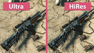 4K UHD | Fallout 4 – High Resolution Texture Pack vs. Standard Ultra Textures Graphics Comparison