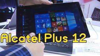 Alcatel Plus 12 con Windows 10 - #MWC17