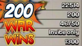 Clash of Clans - Osmanlı İmp. Clan wars #200 win!