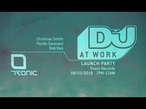 Christian Smith Live From DJ Mag @ Work