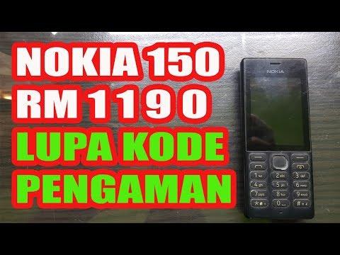 Cara hard reset hp Nokia 105 jadul kesetelan pabrik. Cara reset hp nokia menggunakan kode rahasia. C.