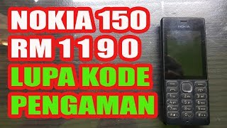 Servis HP Rongsokan Nokia 225//Terkunci kode keamanan Driver Nokia Full Pack....