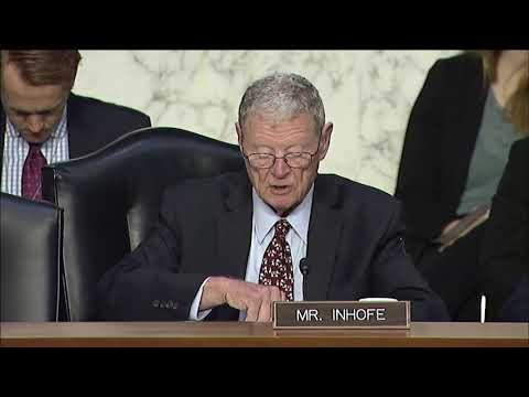 Inhofe Opening Statement at SASC Hearing about CENTCOM and AFRICOM