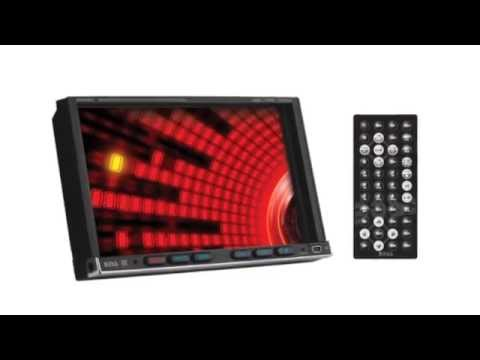 7 Inch Touchscreen Receiver Boss BV9557 - YouTube