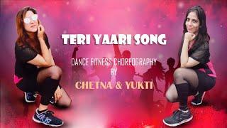Teri Yaari Song 💞💞 | Millind Gaba | Dance Fitness Choreography at Home | Quarantine