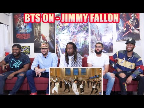 "BTS Performs ""ON"" at Grand Central Terminal for The Tonight Show  REACTION / REVIEW"