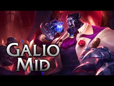 Reworked Debonair Galio Mid - League of Legends Commentary